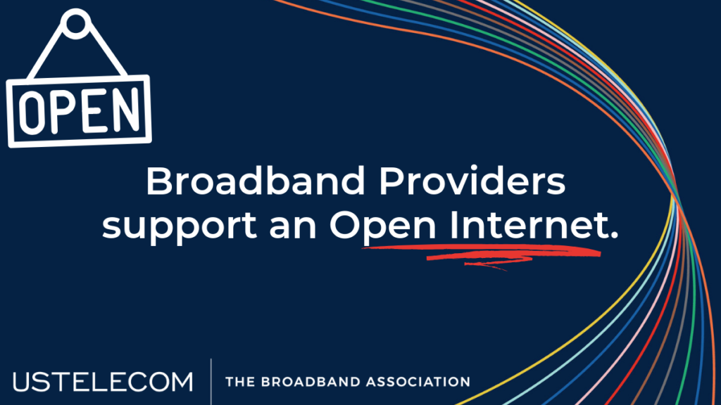 Broadband Providers Support an Open Internet