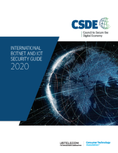 CSDE International Botnet and IoT Security Guide 2020 1