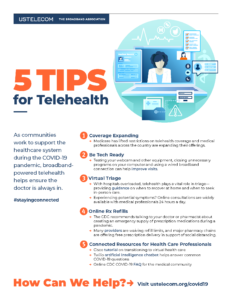 5 Tips for Telehealth