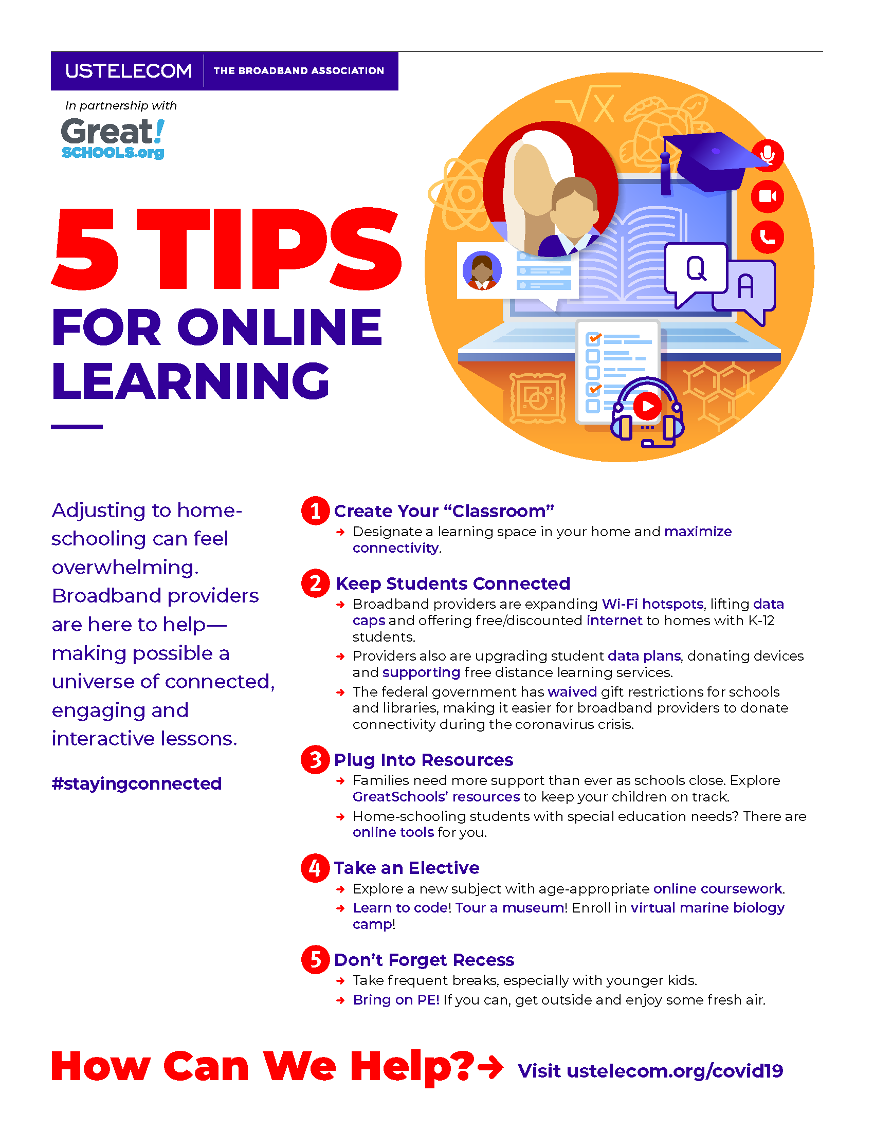 5 Tips for Online Learning