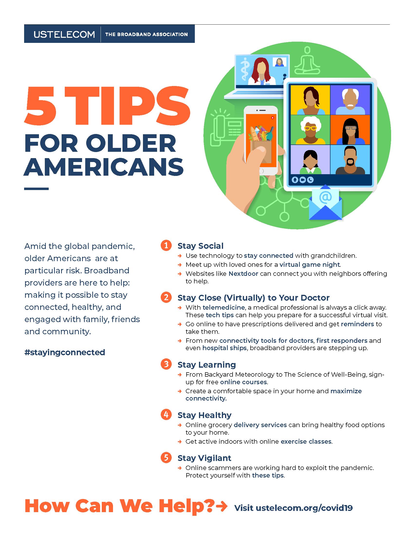 5 Tips for Older Americans