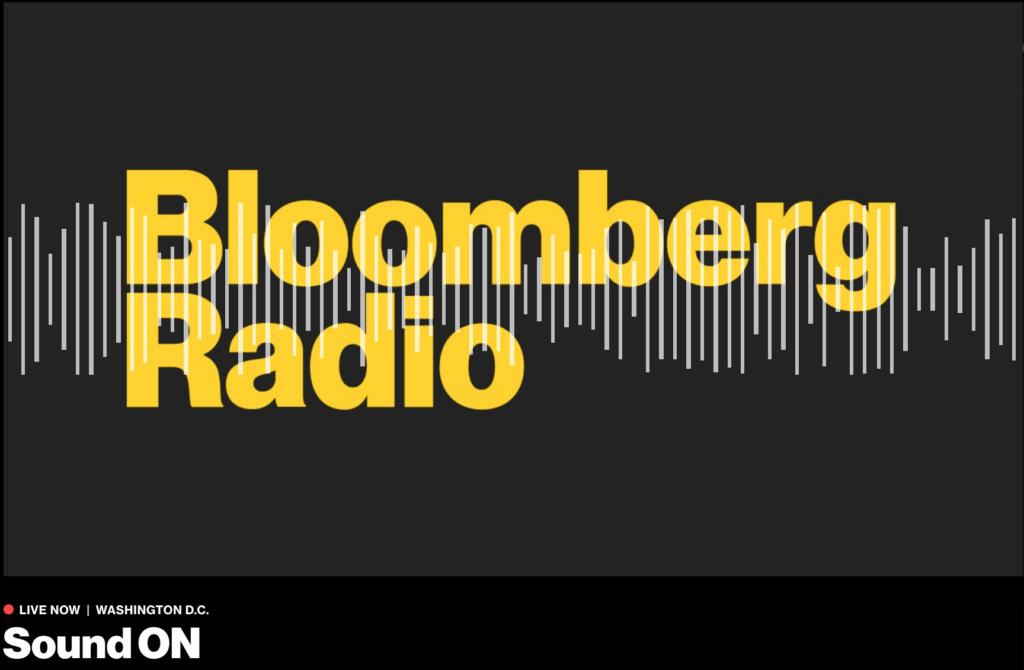 Jonathan Spalter Joins Bloomberg Radio: Sound ON