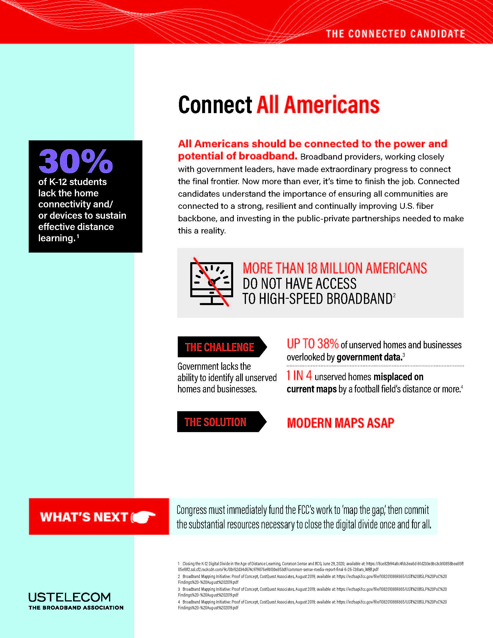 Roadmap To A Connected America: Connect All Americans