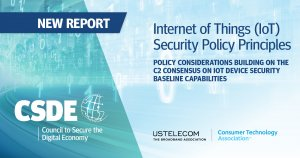 IoT Security Policy Principles 1