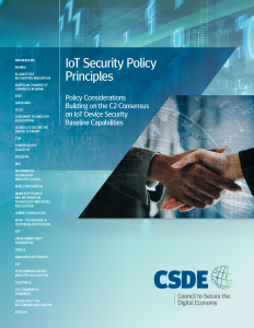 IoT Security Policy Principles